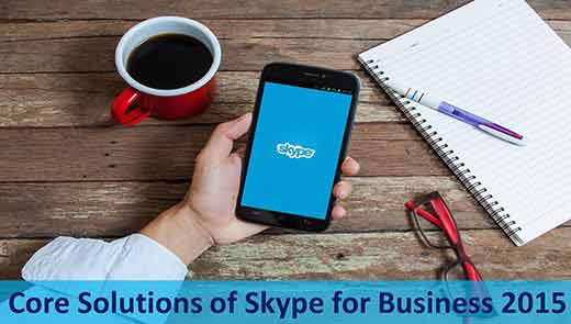 Core Solutions of Skype for Business 2015