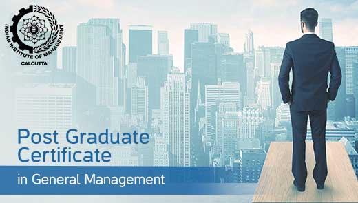 Post Graduate Certificate in General Management (PGCGM)