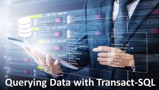 Querying Data with Transact SQL